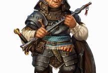Halflings e Gnomos RPG