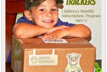Children Enjoy Animal Trackers Club! / photos of children enjoying Animal Trackers Club