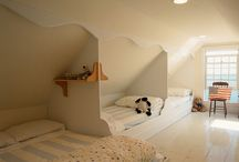bedrooms / by Michelle Bloomfield