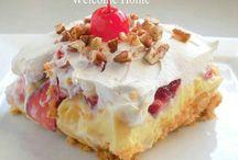 Desserts (crisps/pan desserts)