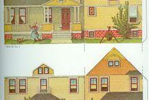 Papieren huizen