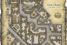 Gdr / Mappe e altro per giochi di ruolo