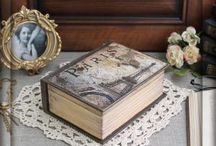 Шкатулки-книги / Книги можно читать, а можно и хранить в них самое сокровенное...