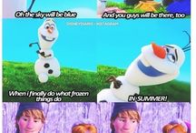 Olaf and other loveables