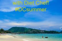Summer Body Inspiration / Summer is just around the corner, so get in shape and feel confident on the beach this year with a little help from Diet Chef...