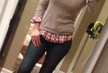 Winter casual outfit 2014. / Jeans, boots & scarf