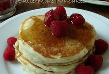 BREAKFAST DISHES / Donuts, coffee cakes, pancakes etc.  / by Darlene Greg