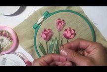 Video Silk ribbon
