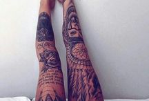 Tattoo inspiration - legsleeve