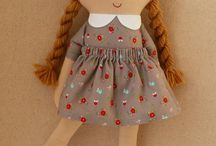 Sewn dolls