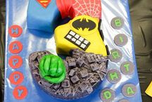 Super Heroes Birthday Party