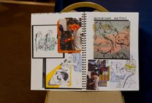 A & AS Level Artwork Summer 2015 / This board features a selection of the fantastic work of our A and AS Level students.