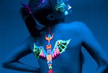 Fluo Body Paint