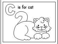 Free Printable Coloring Pages / Having trouble teaching letters to your little ones? Are you a little one who has wondered onto a computer and found this page and can't even read what's going on? Click print for some fun letter coloring activities from Making Learning Fun. Enjoy!