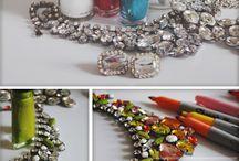 30's - 50's costume jewellery