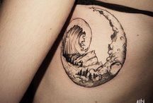hokusai wave tattoo ideas