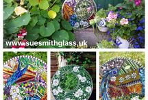 Stained Glass Garden Mosaics