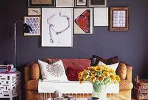 Over sofa??? / Trenger inspirasjon til hva vi skal ha over sofaen vår! Kom gjerne med tips til kule komposisjoner