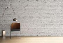 Muurbehang / Industrieel scandinavisch interieur