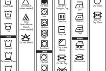 Laundry Care / Symbols and such