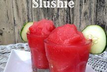 Sommer Getränke und Eis