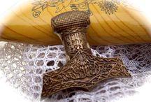 Jóias mitologia nórdica, germânica e medieval / Criações próprias e fontes de inspiração para jóias sobre mitologia nórdica, germânica e medieval