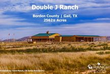 FOR SALE - Double J Ranch, Borden County | Gail, TX