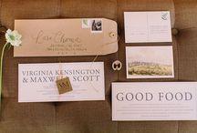 WEDDING INVITES: Woodland / by Chelsea Burkholder