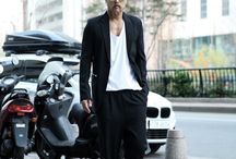 ByTheR- Modern Dandy Casual Chic Gothic Black Classy Neat Looking Style Formal Dress Fashion / http://en.byther.kr/
