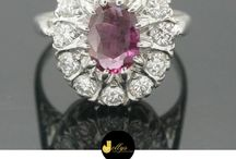 Ruby July / It's July and we're celebrating the gorgeous Ruby birthstone!