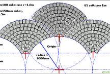 Cobblestone Driveway Patterns / Cobblestone driveway designs and patterns for cobblestone driveways, walkways, patios.