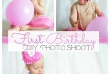 Ideas for Alexis' FIRST birthday / by Christy Acevedo