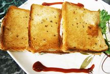 Rai Curd Sandwich / An easy-to-prepare, mouth-watering dish, Rai Curd Sandwich can either work as a quick breakfast recipe or as a snack for the guests who come visiting in the evening. Prepared with easily available ingredients at home, you can make your own enhancements to it by adding more vegetables. The preparation time is short, which is the best part and it is also a healthy diet for those of you who are going strictly no-no with deep fried oily food.