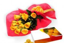 Buy Flowers With Laddu Online and Send it to India / Flowers have a language of their own and with FlowersCakesOnline.com you can easily send flowers to India. To make for a great gift which will surely be loved by all, buy flower vase online and send them to India using the service of free shipping in India.