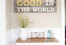 Home Decor Ideas / by Jennifer Beasley