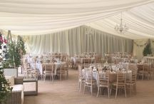 Marquee Weddings / Thinking about a marquee wedding? Or perhaps you've already got one booked and looking for inspiration. Here are a selection of photos from some of our favourite marquee weddings...