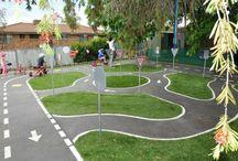 Landscape: traffic school