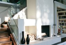 Fire place / The center of the room, will keep you warm during cold winter days