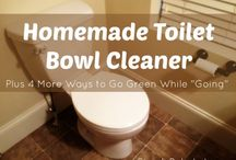 Homemade Cleaning Products / Homemade and all natural, non-toxic cleaning products