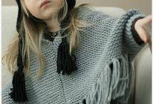 Poncho enfant tricot tuto gratuit