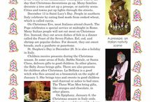 Reading about Christmas