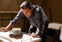 Koffie & Celebrities / Leuke foto's van beroemdheden en hun koffieverslaving!