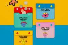 Mr. Men & Little Miss / From their birth in 1971 the Mr. Men and Little Misses have gone from strength to strength. They identify with a multigenerational audience through self expression, colour, simplicity and humour.   Products by Wild & Wolf