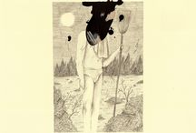 Keaton Henson, Almost Beautiful / A new collection of drawings from musician Keaton Henson, set within a strange world of misfit characters and miscellaneous objects.  Exhibition dates: 19 February to 12 March 2016