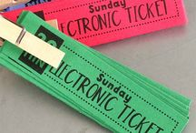 Electronic tickets / by April Milik