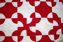 Red and White quilts / From the Red and White quilt exhibit at the Armory in NYC, Spring 2011.  Thank you Joanna S. Rose for sharing your collection. / by Janis Rink