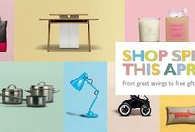 SHOP SPRING THIS APRIL / From great savings to free gifts, discover our daily exclusives.