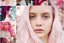 Pink Hair Inspiration BCA / Our Pink Hair inspiration in honor of Breast Cancer Awareness Month.
