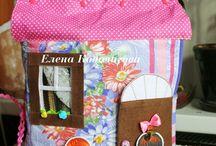 Книга-домик сумка