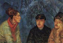 Петров–Водкин / Козьма Сергеевич Петров-Водкин (1878-1939) - один из самых крупных и оригинальных русских художников первых десятилетий XX века.